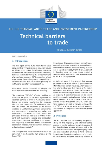 Fichier:TAFTA - Technical barriers to trade.pdf