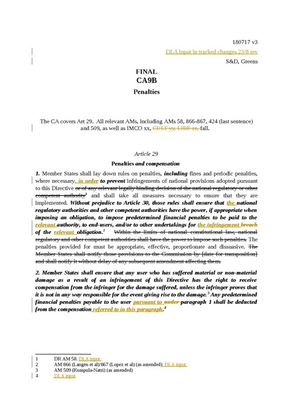 Fichier:300817 CA9B Art 29 penalties and compensation FINAL post DLA SD, Greens.....pdf