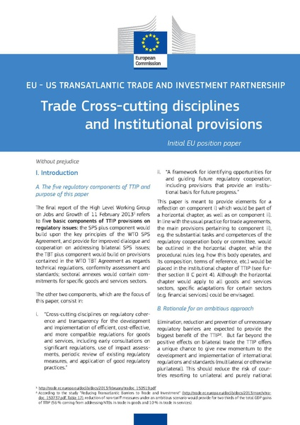 Fichier:TAFTA - Trade Cross-cutting disciplines and Institutional provisions.pdf